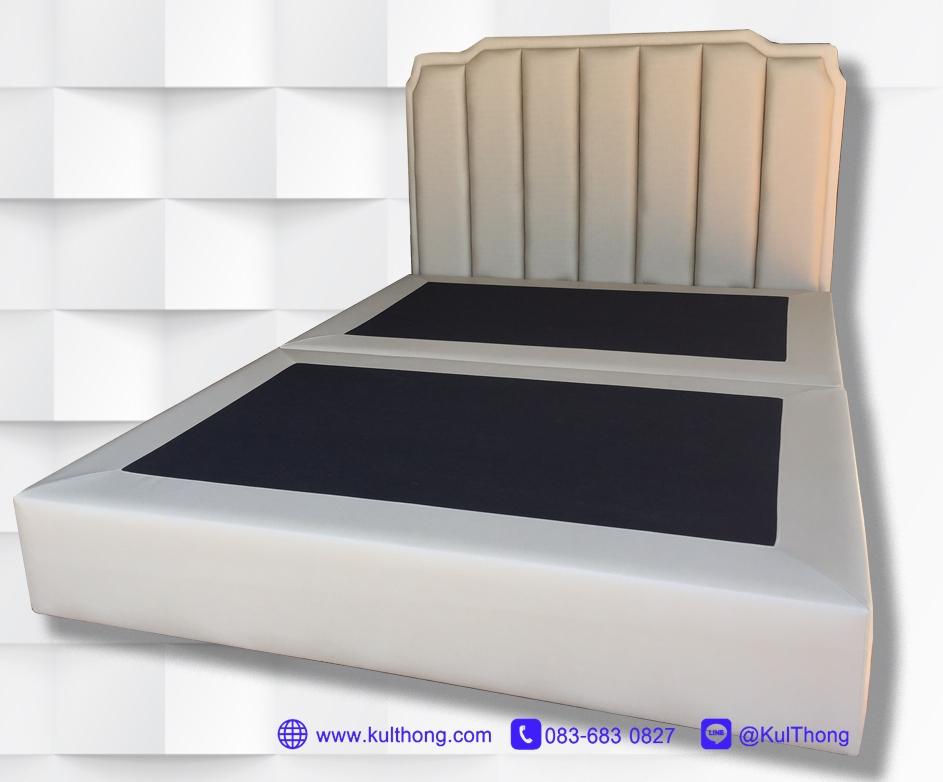 หัวเตียงแบบยึดกับฐานเตียง หัวเตียงสำเร็จ หัวเตียงแขวนผนัง